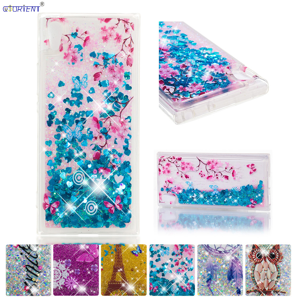 Phone Bags & Cases Persevering Bling Case For Sony Xperia Xa1 Glitter Stars Dynamic Liquid Quicksand Phone Cover G3116 G3112 G3121 G3123 G3125 Fitted Cases 50% OFF