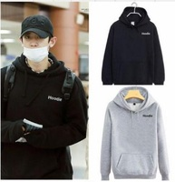 Mainlead Kpop EXO Chanyeol Airport Fashion Cap Hoodie Unisex Coat Sweatershirt
