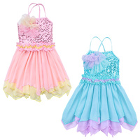 Ballet Dress For Children Girl Dance Clothing Kids Sleeveless Ballet Dresses For Girls Dance Girl Dancewear