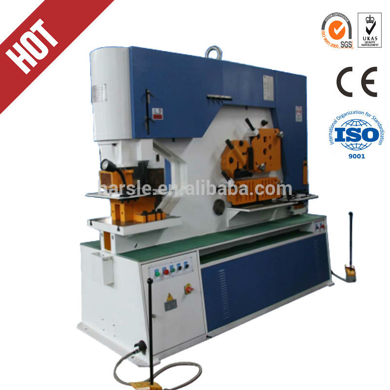 Q35Y 35)Hydraulic Ironworker With Metal Hole Punch and Metal