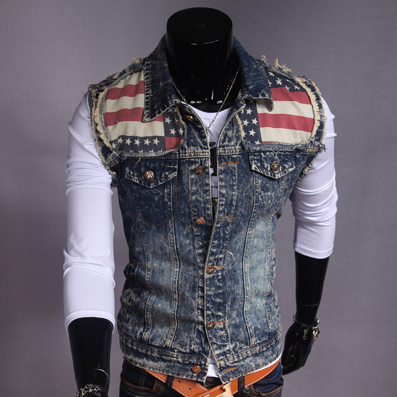 Veste automne hiver Demin gilets Cowboy Slim gilets hommes sans manches veste grande taille livraison gratuite hommes mode vêtements décontractés