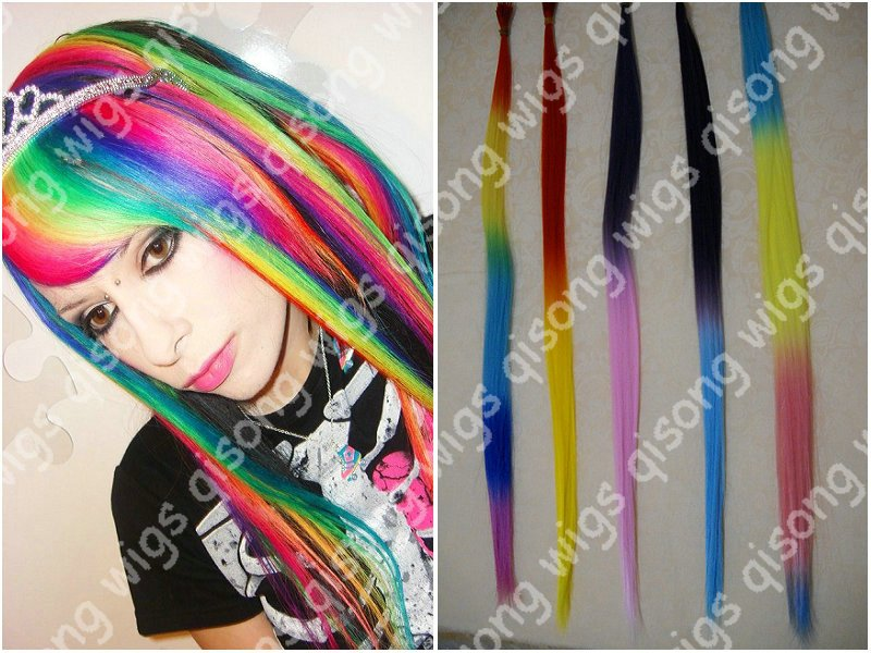 Feather hair extensions 500pcs rainbow tie dye synthetic feathers feather hair extensions 500pcs rainbow tie dye synthetic feathers 500 beads free shipping qsjz1 on aliexpress alibaba group pmusecretfo Gallery