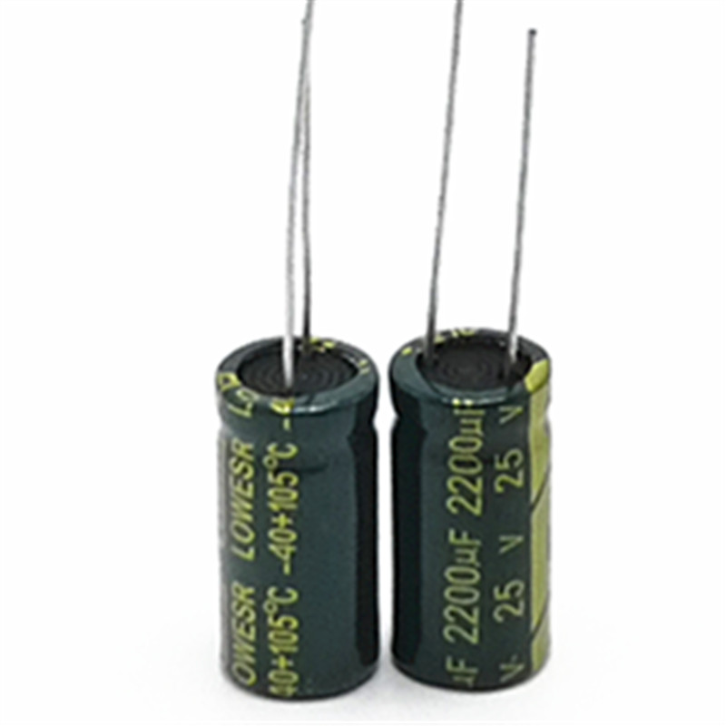10pcs/lot 25v 2200uf 10*20MM high-frequency low-impedance aluminum electrolytic capacitor 2200uf 25v 25v2200uf10pcs/lot 25v 2200uf 10*20MM high-frequency low-impedance aluminum electrolytic capacitor 2200uf 25v 25v2200uf