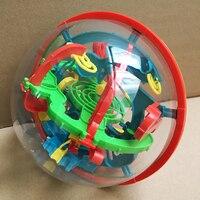 كبير 100 خطوات 3d ماجيك الفكر الكرة المسار لغز المتاهة لعبة أطفال لعبة perplexus ملحمة الكبار كرات المغناطيسي لعب لل أطفال