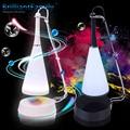 Moda do Sensor de Toque LED Table Lamp Light com Telefone PC Mini Speaker Música de Carregamento USB Touch Dual-poupança de energia Luz da noite
