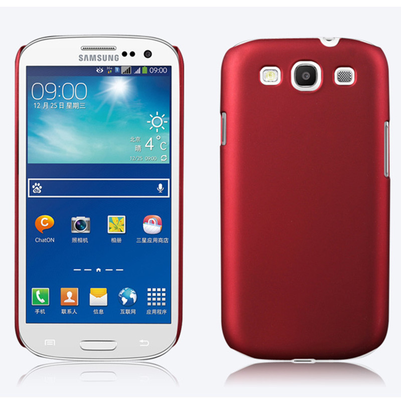 S3 Matte Hard Case Back Cover For Samsung Galaxy I9301 S3 Neo S3 Duos GT-I9300i S3 I9300 S III back cover