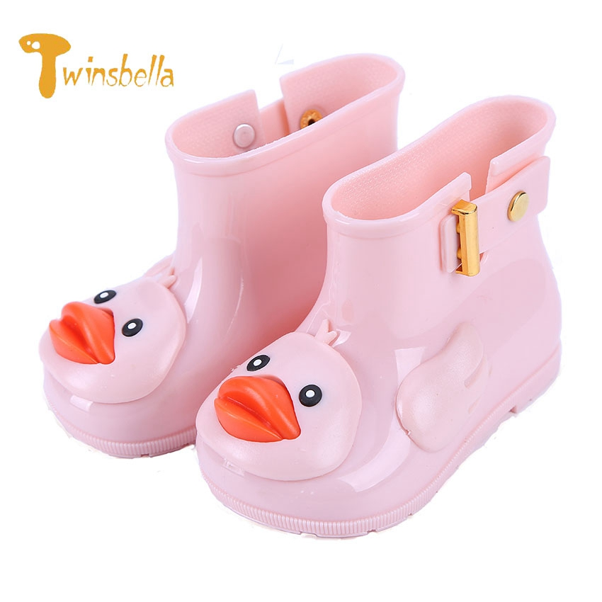 twinsbella cute duck rain boots boys girls non slip baby jelly shoes overshoes waterproof for - Duck Rain Boots