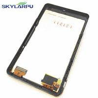 skylarpu 4.3 inch LQ043Y1DX05 LCD screen for GARMIN Nuvi 3490 3490LM 3490LMT GPS LCD display Screen panel with Touch screen