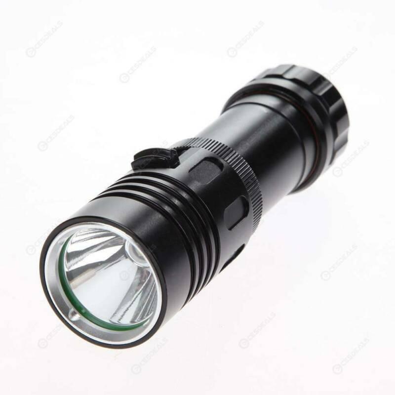 Underwater 50m 20000 Lumens T6 LED Scuba Diving Flashlight Lamp Torch Light HOT in LED Flashlights from Lights Lighting