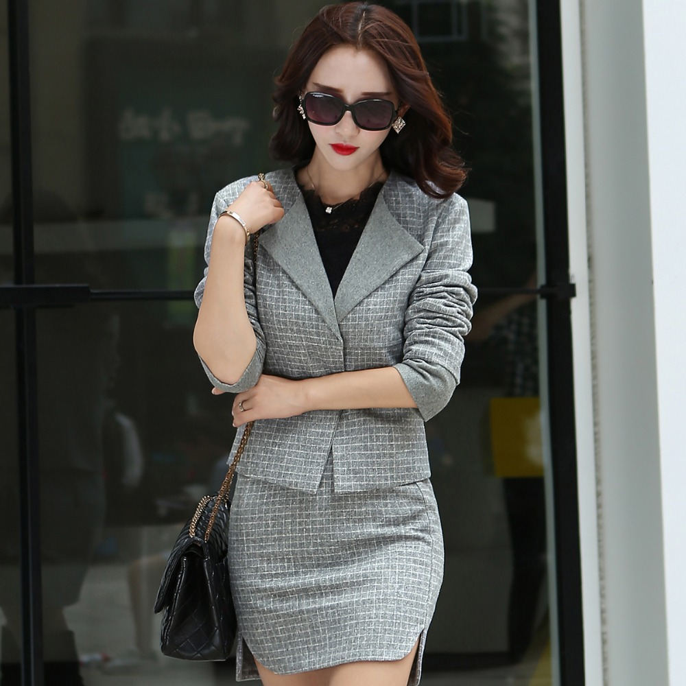 New Arrival Women Office Skirt Suits Hot Sale Fashion -6672