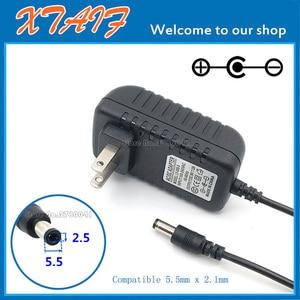 Image 1 - Ücretsiz kargo YENI 1 ADET AC/DC 9 V 2A Anahtarlama güç kaynağı adaptörü Ters Polarite Negatif Içinde ABD plug 5.5mm x 2.1mm 2.5mm