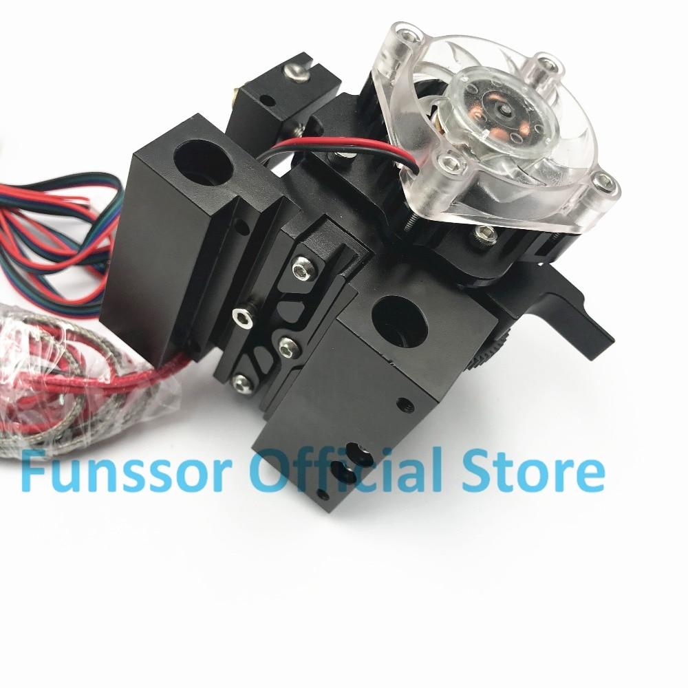 Funssor Собранный все металлические Prusa I3 MK2 Titan Aero экструдер полный комплект 1,75 мм 0,4 мм Насадка K Тип