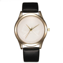 New Simple Women Wrist Watch Luxury Blank White Clock Hours Dial Watches Woman Ladies Watches Casual Urvoi Relojes Mujer Moda *A