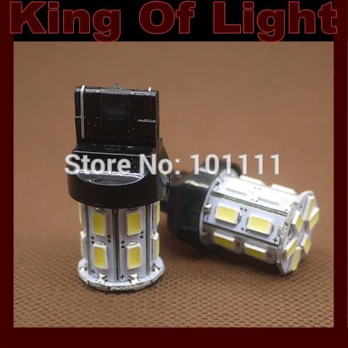 10x led Car lighting 7440 20 LEDS SMD 5630 5730 T20 W21W 50smd Turn lignt Free shipping