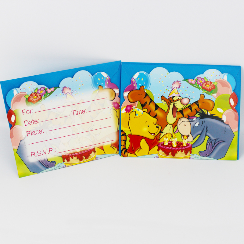 12 People Use Kid Boy Girl Winnie the Pooh Theme Happy Birthday ...