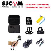 Camera Accessories camera bag + 32G TF card+strap+ Selfie Stick Monopod for M10 SJ4000 Series SJ5000 series Sports Action Camera