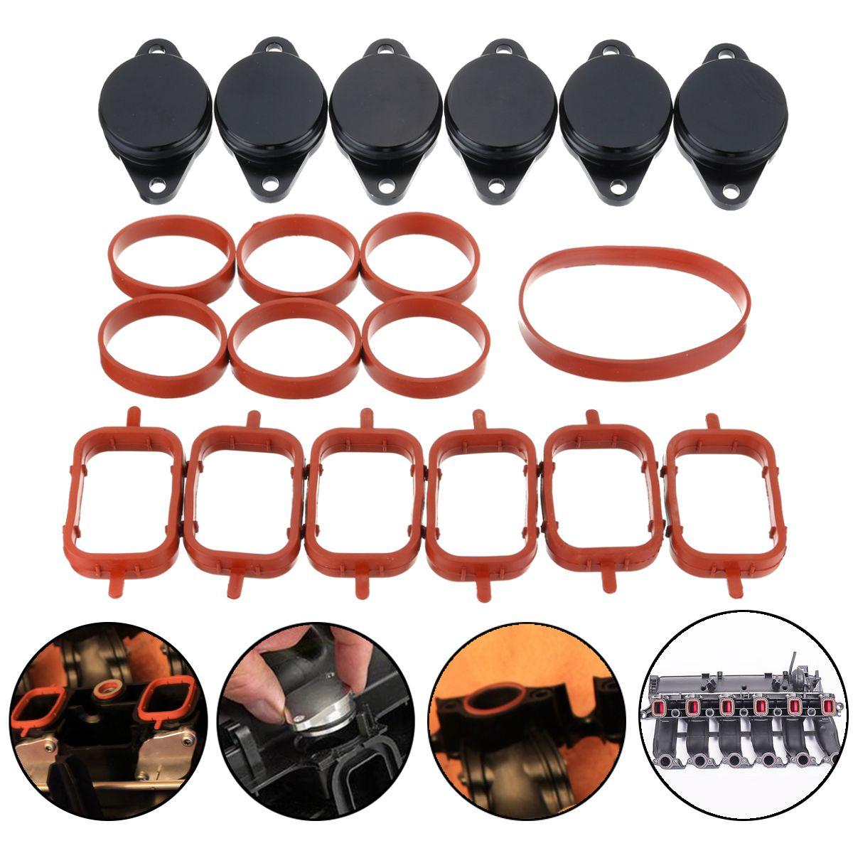 19 шт 32 мм O-Ringen автомобильный закручивающийся клапан пустые прокладки + коллектор прокладки для BMW E39 E46 E53 E60 E90-E93 1999-2010 #11617790198