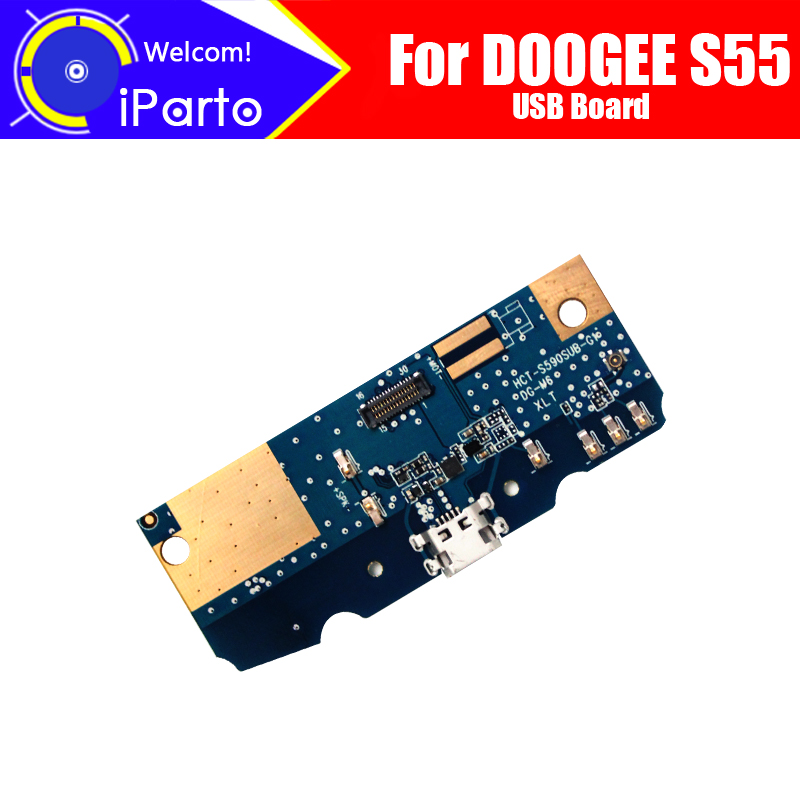 DOOGEE S55 Usb Board  100% Original New For Usb Plug Charge Board Replacement Accessories For DOOGEE S55 Phone