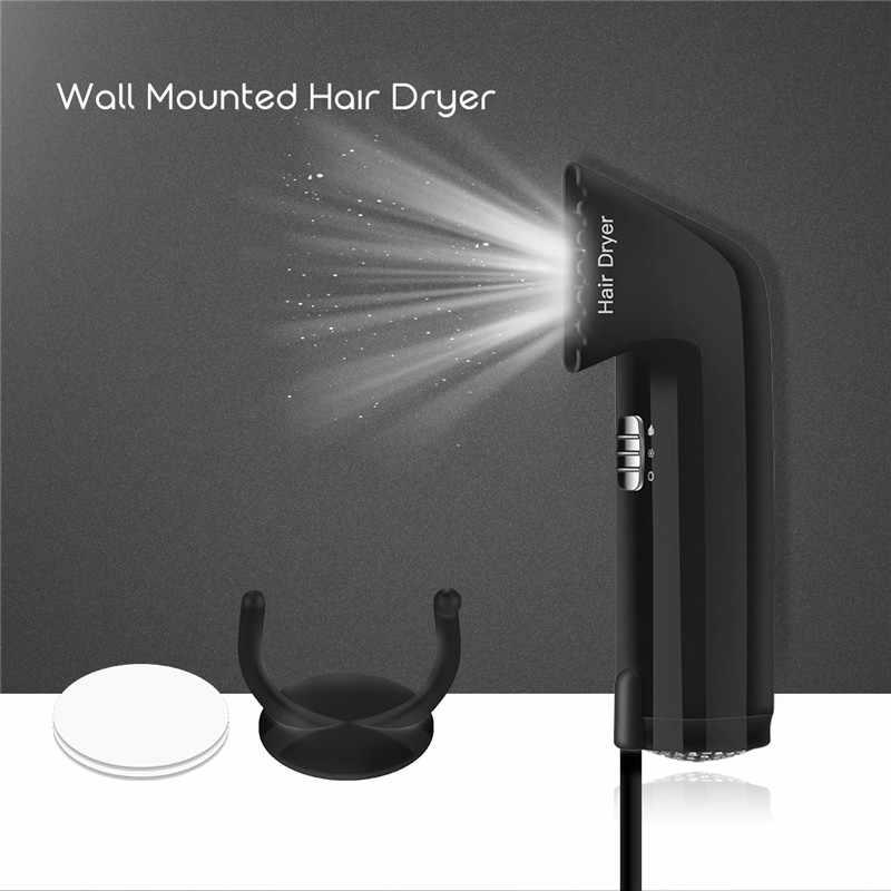 750 Вт настенный для отеля Ванная комната бытовой дорожные Фены для волос профессиональный безопасности подвесной, настенный фен для волос воздуходувки P40