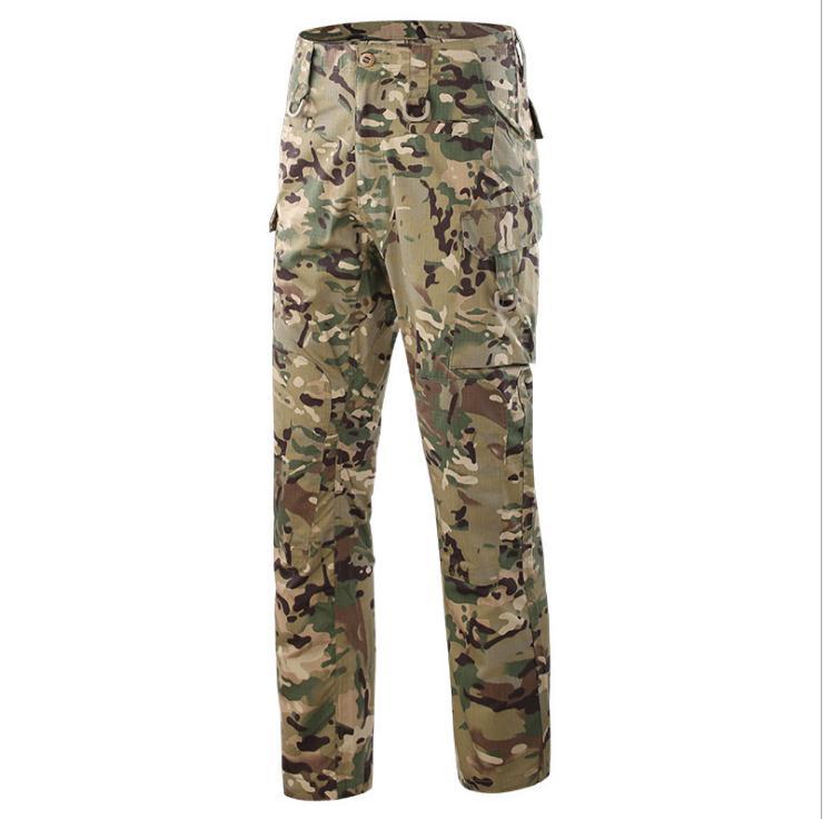 En gros 2018 en plein air ESDY commando résistant à l'usure terrain camping loisirs militaire pantalon outillage spécial Cargo pantalon hommes