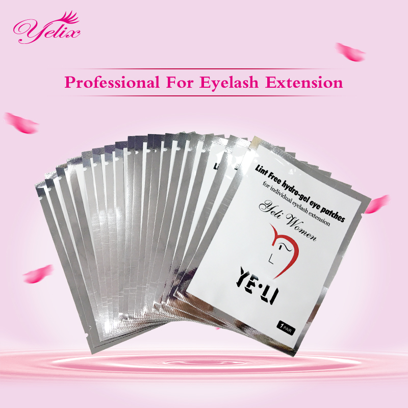 10/400 pairs Lint Free Gel Patches Eyelashes Under Eye Pads Lashes Eyelash Extension Paper Patch Eye Tips Sticker Make Up Tools