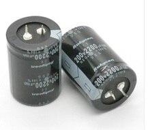 200 В 2200 мкФ 2200 мкФ 200 В электролитический конденсатор объем 35×50