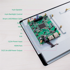 Image 5 - ЖК дисплей с сенсорным экраном SunFounder, 10,1 IPS, HDMI 1280*800 для Raspberry Pi 4B 3B + 3B 2B LattePanda Beagle Bone