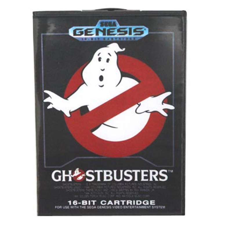 Ghost Busters Boxed Version 16bit MD Game Card For Sega Mega Drive And Genesis