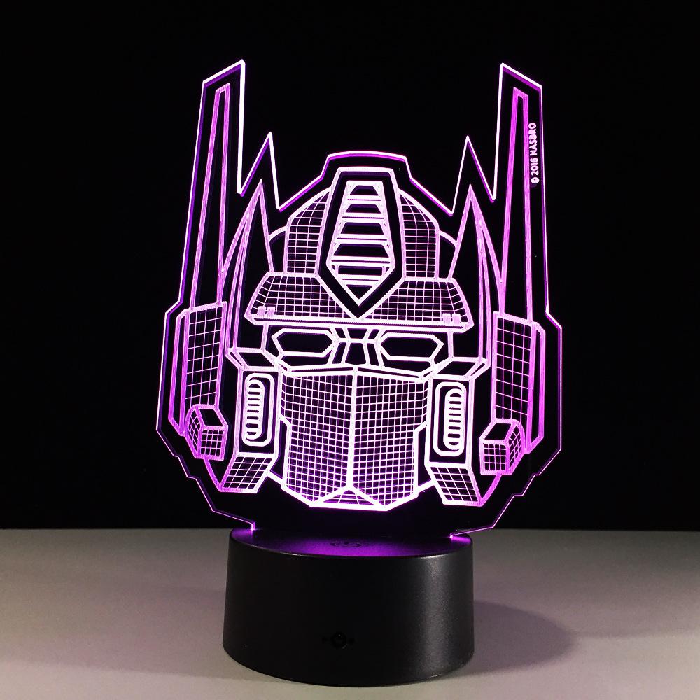 Veilleuse Enfant Led Usb 3d Night Lamp Diy Table Light Decoration Fidget Spinner Light Up Nightlight Baby