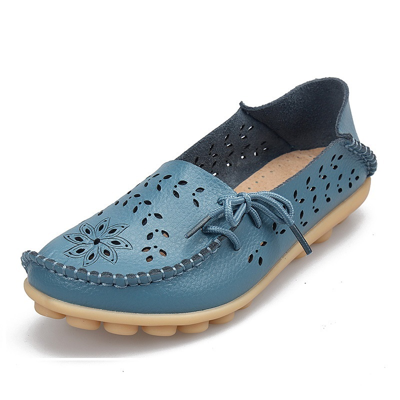 Ladies Flats Sneakers Lady 2017 Vogue Moccasins Loafers Wild Ladies Informal Sneakers Traditional Driving Lady Footwear girls flats, style flats, girls footwear,Low-cost girls flats,Excessive High quality style flats, China...