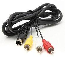 Cable de 1,8 m / 6 pies para Sega Megadrive 2 AV TV, Cable de plomo para Mega Drive 2, novedad