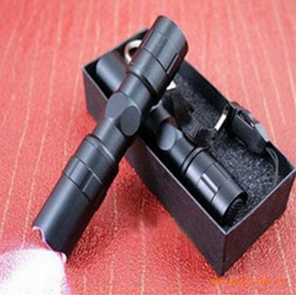 New Promotion 1pcs/lot Waterproof LED Torch With retail package LED Flashlight Flash Light Lamp Black A3001 new and retail package for 73gb 10k