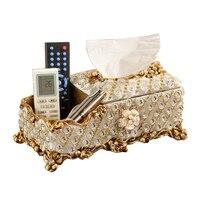 European Ceramic Luxury Tissue Boxes Paper towel box fashion carton fashion house decoration