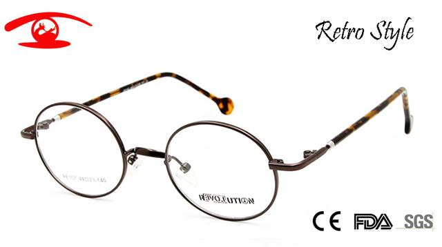 Armações de Óculos Pequenos Óculos Redondos do vintage Das Mulheres Dos Homens Unisex Vidro Miopia Óculos de Lente Clara Óculos de harry potter