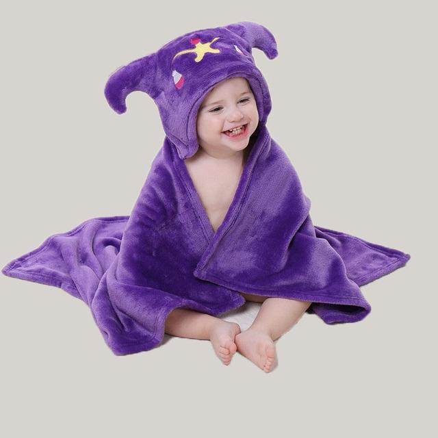 Venta al por mayor de moda encantadora linda cama manta de bebé