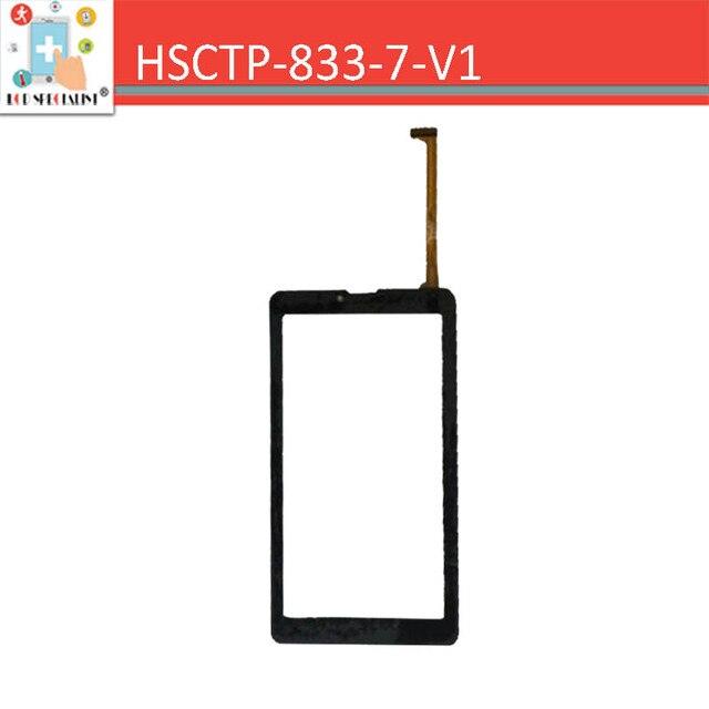 Высокое Качество Для HSCTP-833-7-V1 Емкостный Сенсорный Экран Tablet PC Сенсорная Панель Планшета Стекло Датчик Бесплатная Доставка