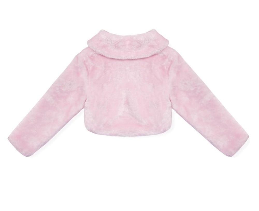 pink coat back