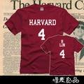 Гарвардский университет футболка майки tee женская мужская tee 100% хлопок высокого качества jeremy lin костюм