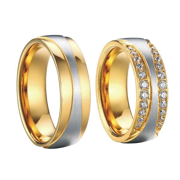 high end luxury handmade custom gold color health titanium steel