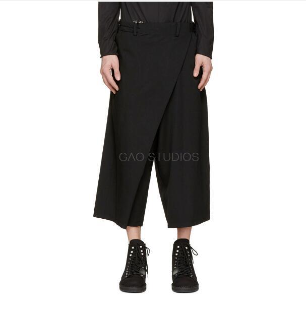 Casual Pants Clothing Street-Capri GD Men's Plus-Size Fashion NEW Wide 27-44 Costumes