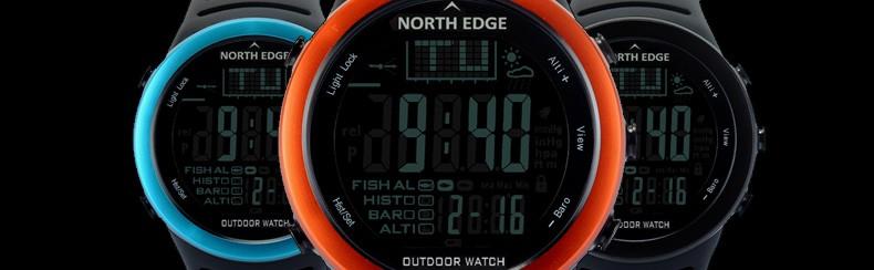 pêche NORTH altimètre Montre 2