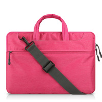 Cheap Felt Laptop Sleeve For Waterproof Case Protective Shell Notebook 15 Inches Computer Bag Pink