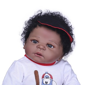 Image 3 - NPK muñecas Reborn realistas de silicona para niñas, muñecos de bebé de estilo de pelo bonito