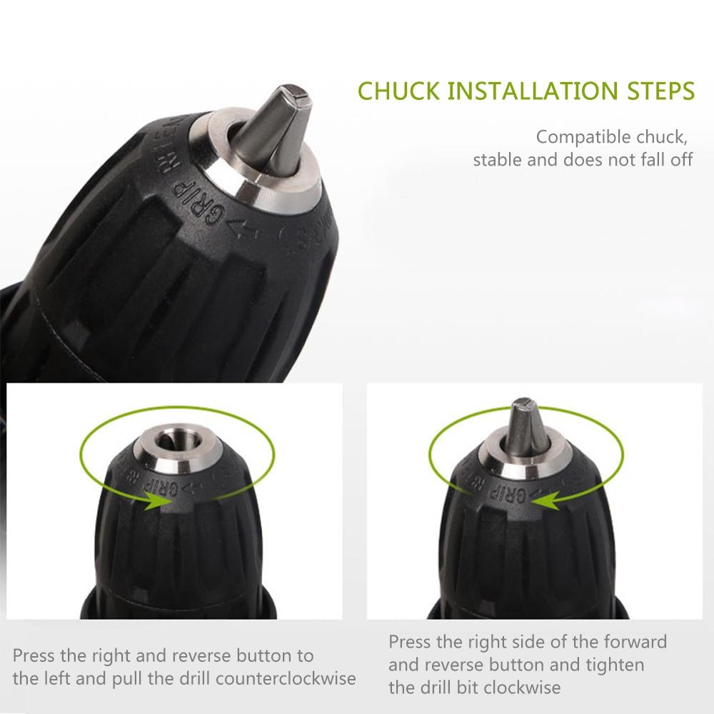 2 bateria parafusadeira furadeira ferramentas eletrica Furadeiras