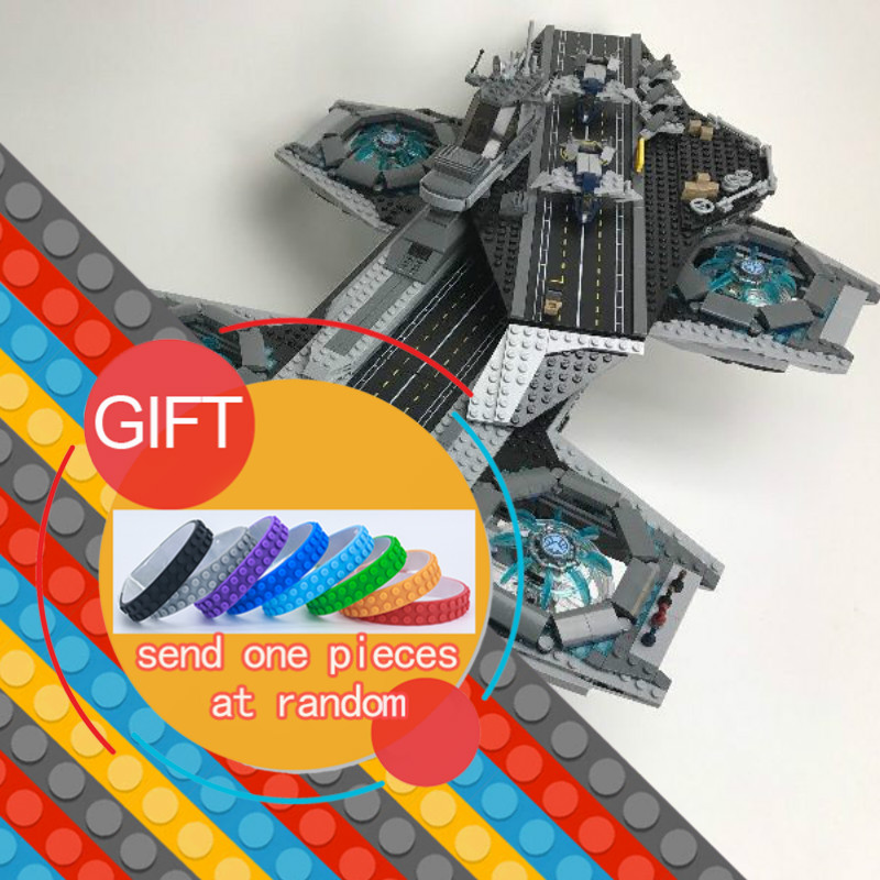 07043 3057Pcs Super Hero The Shield Helicarrier set Model Building Kits Blocks Toys Compatible with 76042 lepin lepin 07043 3057pcs super heroes the shield helicarrier model building blocks bricks toys compatible 76042 for children