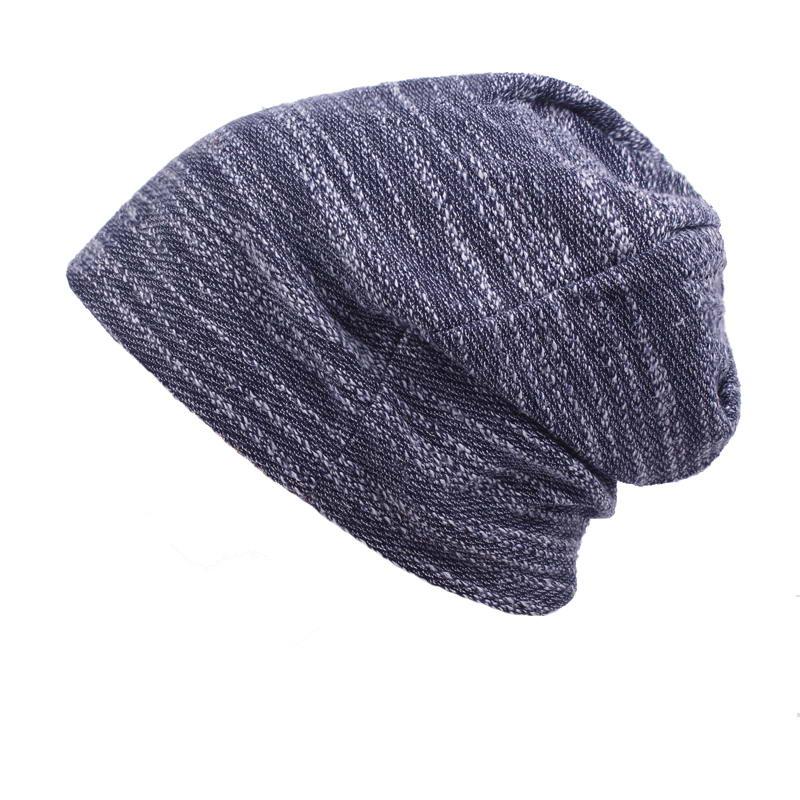86254709a06bb Vintage Men Women Baggy Beanie Slouchy Knit Skull Cap Thin Hip hop Helmet  Liner Running Beanies Hat