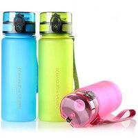 ZGJGZ Water Bottle Health Environmental Plastic Outdoor Sports Bottles Portable Fashion Colorful Drink Bottle