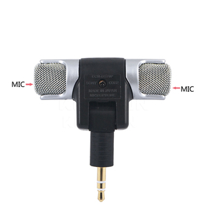 Image 2 - kebidu 2017 Hot  Electret Condenser Stereo Clear Voice mini Microphone for PC for Universal Computer Laptop phone