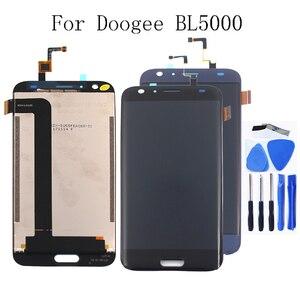 """Image 1 - Per Doogee BL5000 5.5 """"LCD + Touch Digitizer per DOOGEE bl5000 lcd parti di riparazione del rimontaggio di trasporto libero + strumenti"""