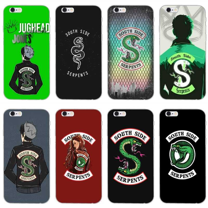 American TV Riverdale southside serpents For LG G5 G6 G7 Q6 Q7 Q8 K8 K10 V10 V20 V30 Sony xperia XA Z4 Z5 M2 M4 M5 E3 E5 case